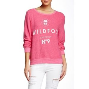 Wildfox Love Potion No. 9 Pink Sweatshirt